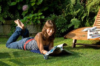 To reduce lawn care…