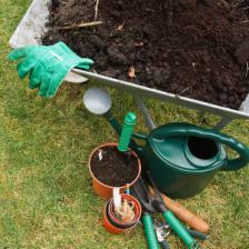 Compost, very useful in the garden