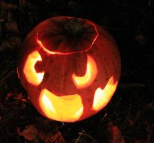 Carve a pumpkin for Halloween!