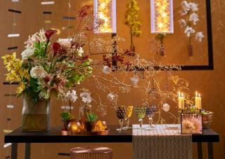 Flower arrangements to decorate the house on Christmas and New Years