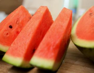 Caring for watermelon results in delicious snacks!