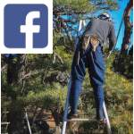 Picture related to the article overlaid with the Facebook logo.