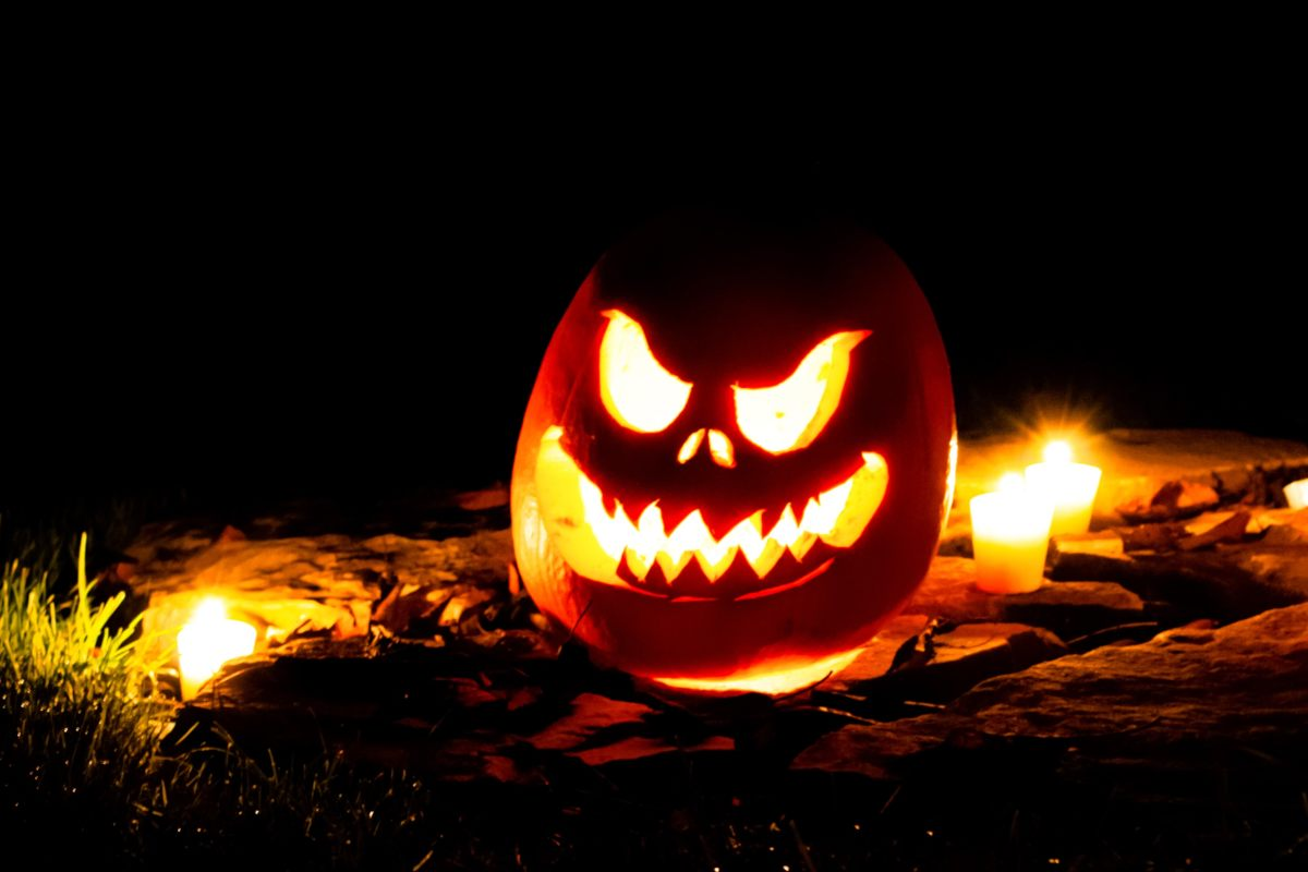 Spooky jackolantern