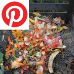 Picture related to Compost overlaid with the Pinterest logo.