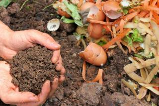 Compost is a great recycling use for coffee